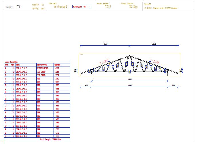 Quick Steps of Truss Design Process - Vertex BD 2017