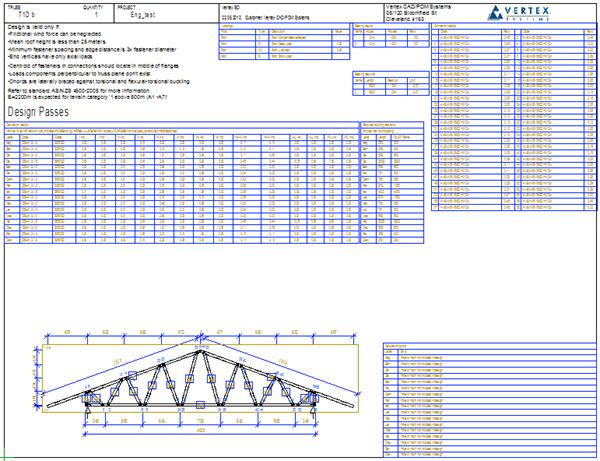 Complete Truss Design Process - Vertex BD 2017 Documentation