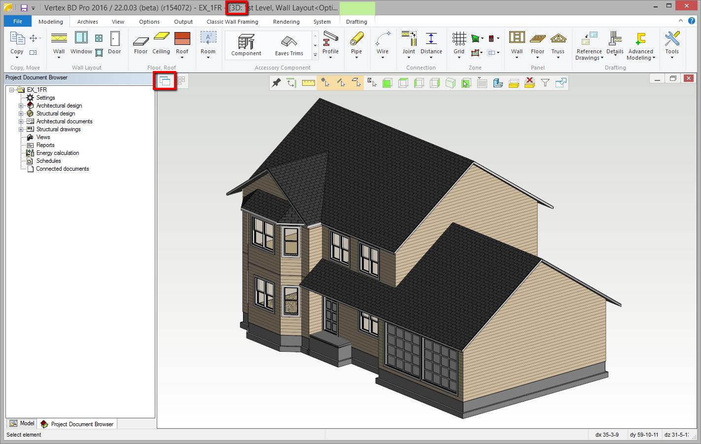 Saving 3D model as 3D PDF - Vertex BD 2018 Documentation